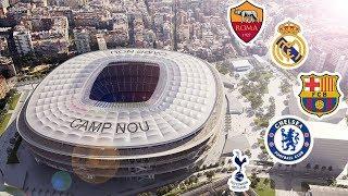 Top 5 || Grandes Clubes Que Planean Un Nuevo Estadio || Futuros Estadios de Europa