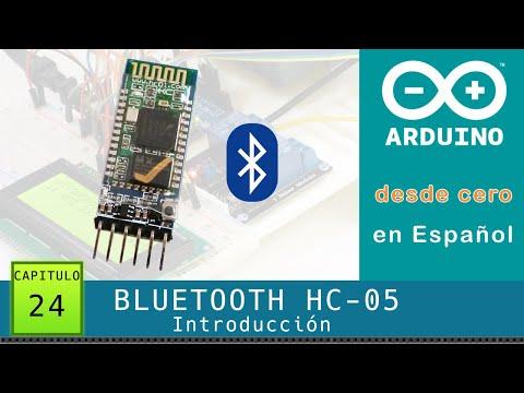 Arduino Desde Cero En Español - Capítulo 24 - Bluetooth HC-05 Introducción Y Comandos AT