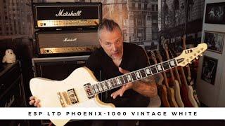 ESP LTD Phoenix-1000 Vintage White