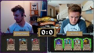 [Hearthstone]Reynad vs J4CKIECHAN - Hearthstone Oktoberbrawl