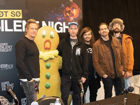 Bastille Backstage At Not So Silent Night: 'Happier' Secret Santa