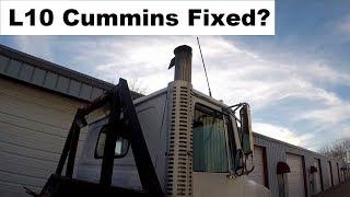 Truck Repairs: Cummins L10 STC Smoke and Rough Idle - the Fix