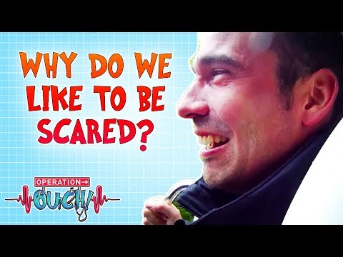 We Do We Like to Be Scared? | Operation Ouch | Science for Kids