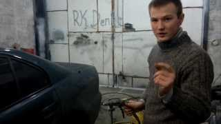 Обработка колёсных арок антигравием by RK|Zver