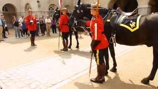 RCMP at Horse Guards Parade