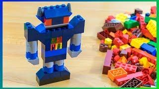 Lego Classic 10693 - Cómo construir un robot con piezas LEGO - Videos para niños
