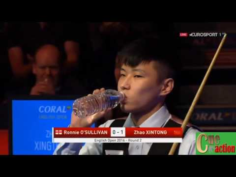 Snooker English Open 2016 Ronnie O'Sullivan - Zhao Xintong Best of 7 Frames