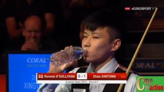 Snooker English Open 2016 Ronnie O&#39Sullivan - Zhao Xintong Best of 7 Frames
