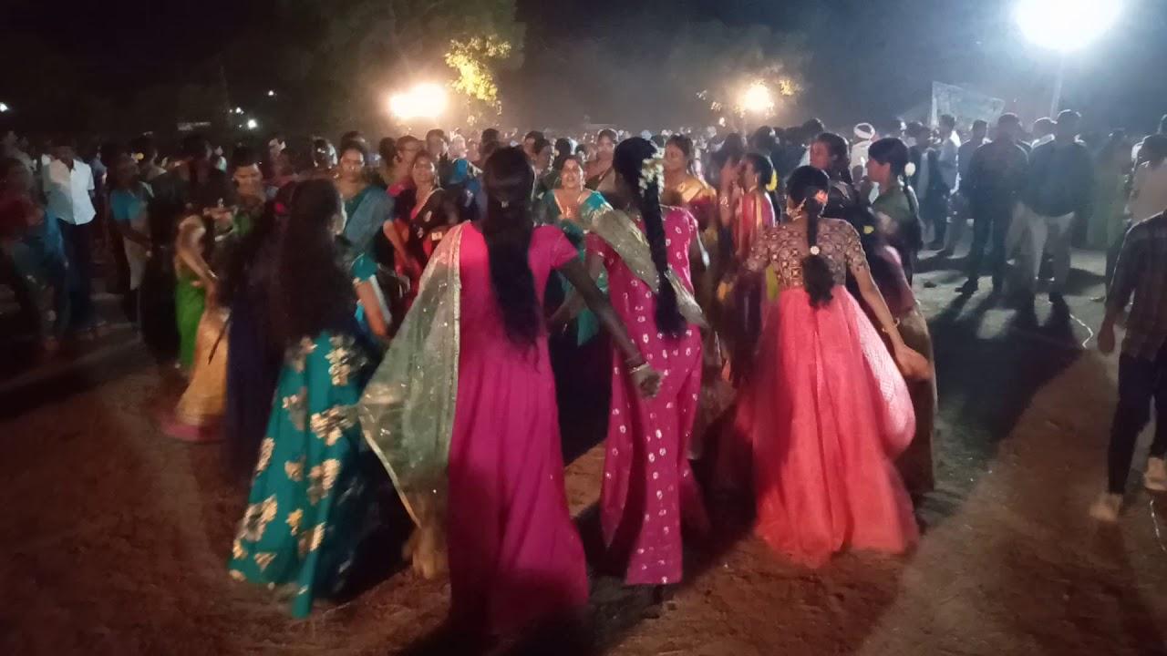 Village bathukamma celebrations||తెలంగాణ బతుకమ్మ||