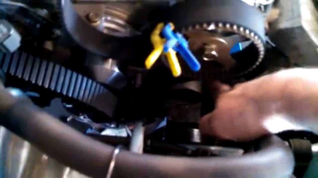 hight resolution of timing belt replacement 2003 chrysler sebring 3 0l v6 water pump too mitsubishi youtube
