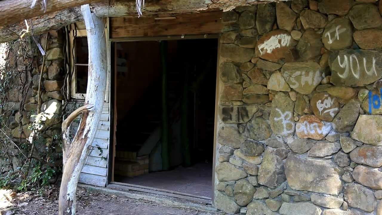 Deserted Stone House In Springbrook Gold Coast Australia