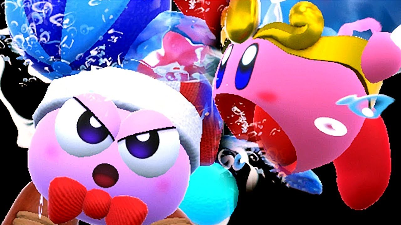Kirby Star Allies - All Friend Abilities Combos (Rick Marx & Gooey + All Characters)