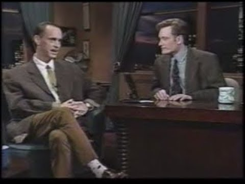 John Waters on Late Night With Conan O'Brien **Partial**