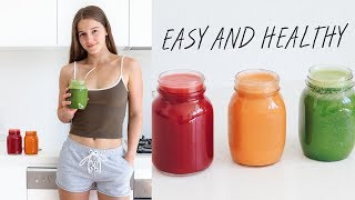 3 DELICIOUS JUICE RECIPES + WHY I LOVE JUICING 🍉