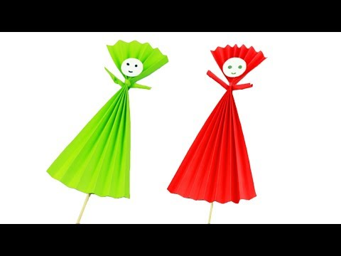 Easy Paper Craft For Kids  | Easy Paper Crafts Origami Ideas | Easy Kids Crafts