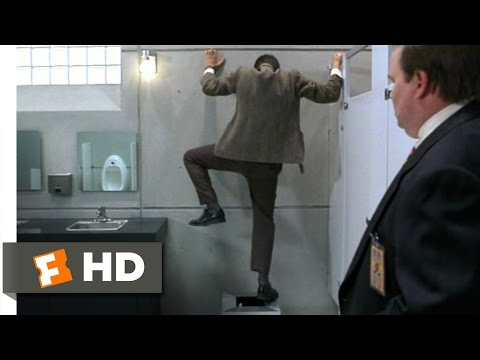 Bean (4/12) Movie CLIP - Bathroom Mishap (1997) HD