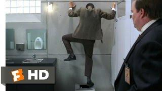 Bean (4/12) Movie CLIP - Bathroom Mishap (1997) HD