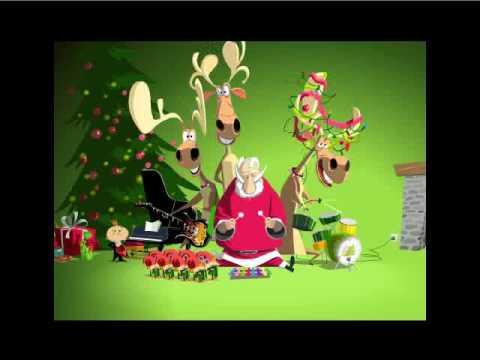 Lustige Weihnachtsmusikanten