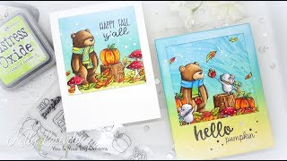 Simon Says Stamp: Neat & Tangled Hello Pumpkin