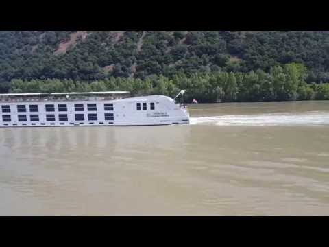 Uniworld's Supership Maria Theresa on the Danube
