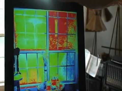 Inflector Window Insulators Thermal Imaging Camera See