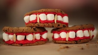 Vampire Diaries Fang Cookie Recipe | Just Add Sugar