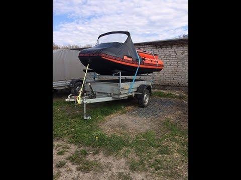 Прицеп для лодки ПВХ (летний вариант)