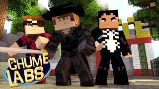Minecraft: AJUDANDO O HOMEM-ARANHA! (Chume Labs 2 #72)