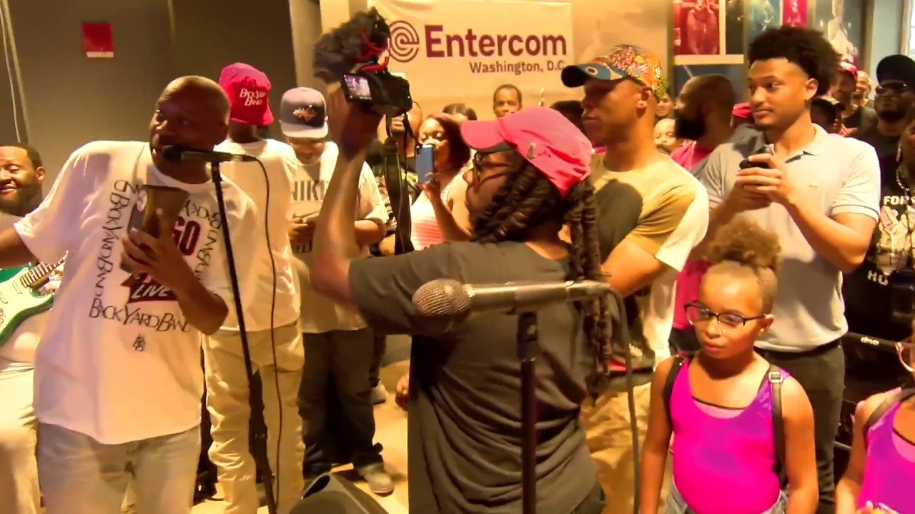 Backyard Band Performs at WPGC's Go-Go 95 Live - YouTube
