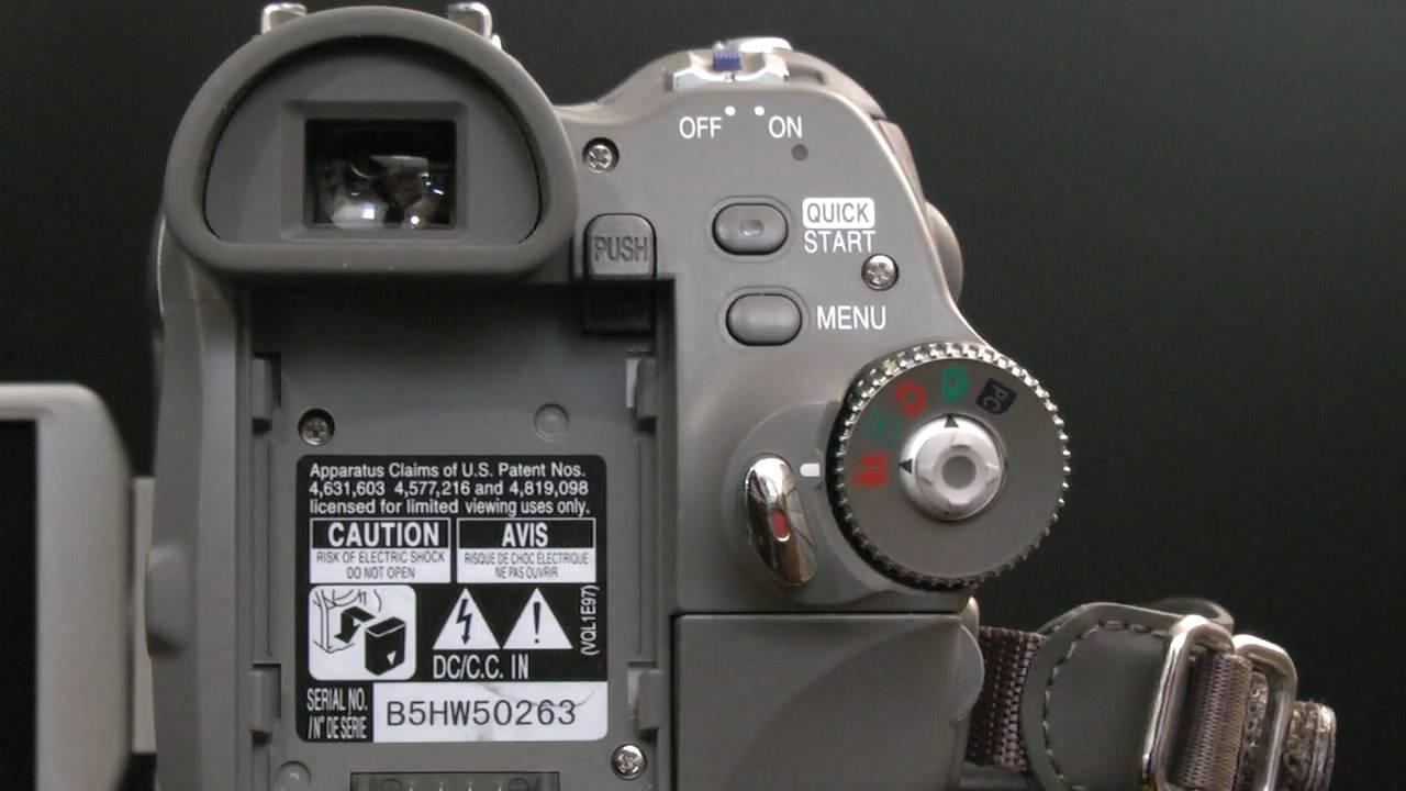 a demo of my panasonic pv gs65 3 chip mini dv camcorder in hd rh youtube com