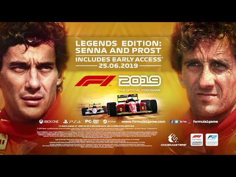 F1 2019 Legends Edition - Video