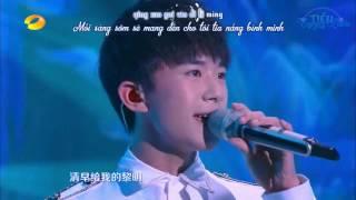 [TTK][Vietsub - Kara][150916] Tiểu Tinh Linh/小精灵 -TFBOYS LIVE Trung thu đài Hồ Nam