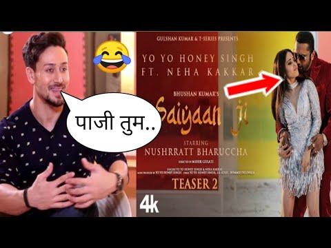 saiyaan-ji-teaser-2-reaction-tiger-shroff-|-saiyaan-ji-song-reaction-|-neha-kakkar-|-honey-singh