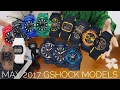 G-Shock JAPAN 2017 MAY new releases models