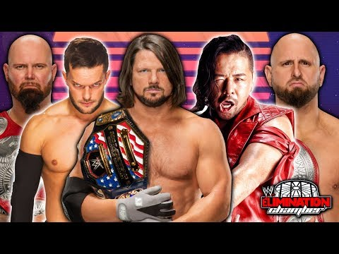 AJ Styles vs. Finn Balor vs. Shinsuke Nakamura vs. Kenny Omega vs. Karl Anderson vs. Luke Gallows
