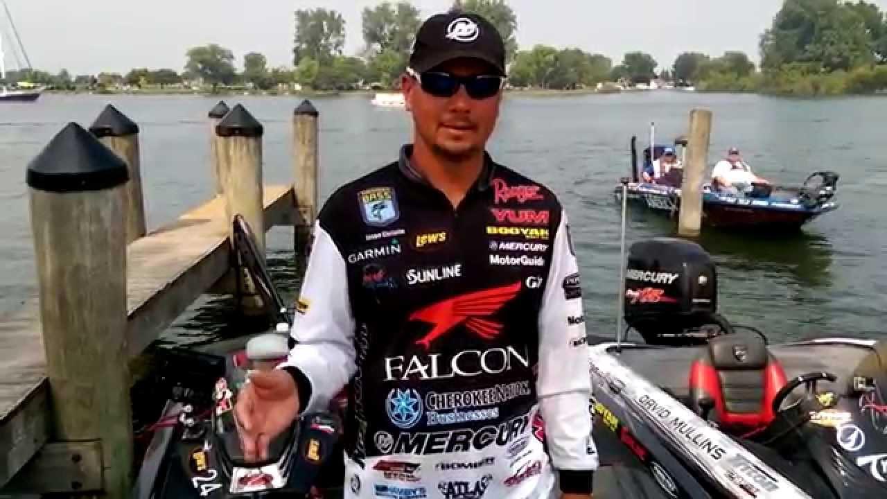 Day 2 recap lake st clair bassmaster elite series jason for Jason christie fishing