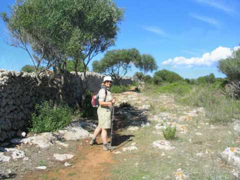 Walking in Menorca Spain