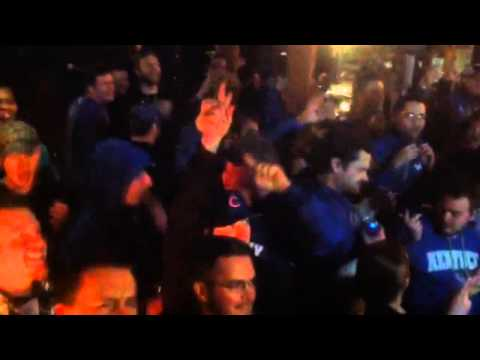 Kentucky fans at Two Keys celebrate