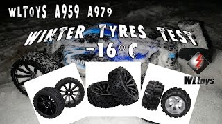 Wltoys A959, A979. Тест нової гуми. Зламав спур. БК тупить