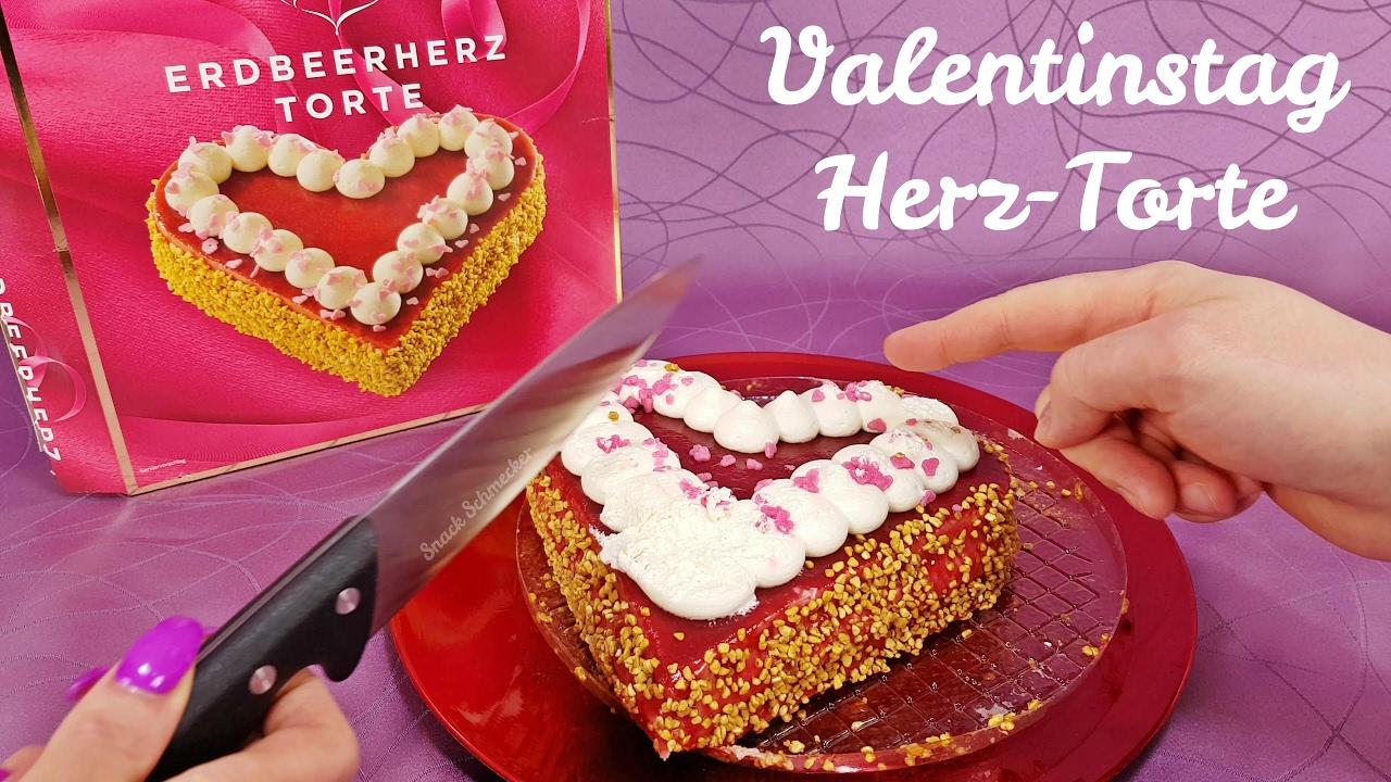 Valentinstag Erdbeer Herz Torte Im Snack Test Youtube