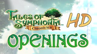 Repeat youtube video [ Tales of Symphonia HD ] Openings GC