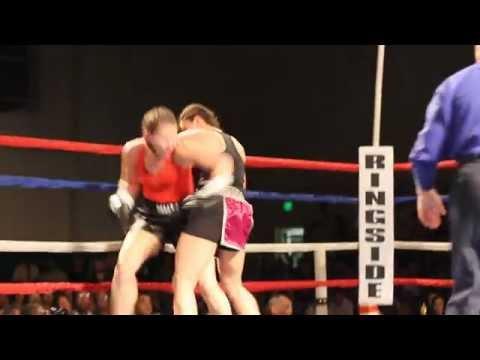 #2 Teresa Perozzi April Ward Fight Night XIV Bermuda March 10 2012