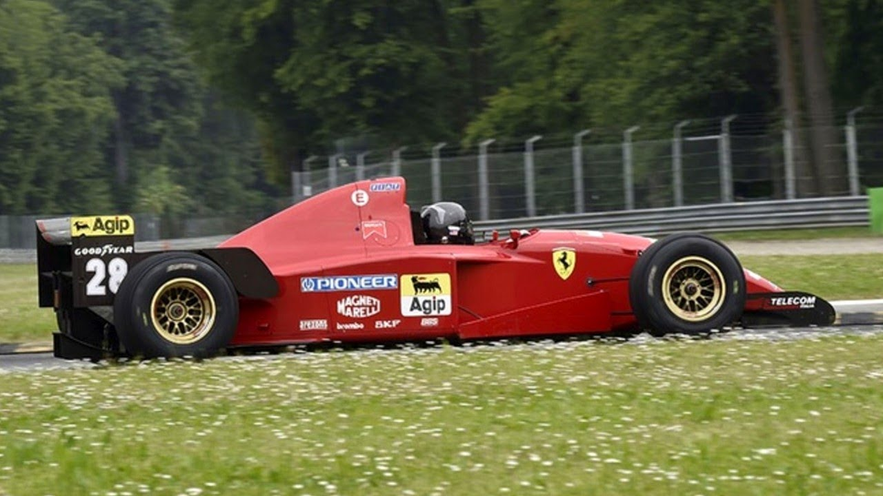 The Best Sounding F1 Engine Ferrari 3 0l V12 1995 Ferrari 412 T2 Sound Youtube