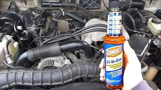 Do fuel system cleaners actually work? Testing Gumout