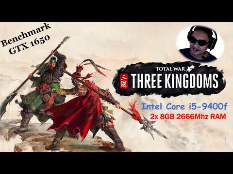 Benchmark Total War Three Kingdoms - GTX 1650 |