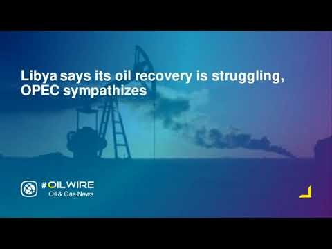Libya says its oil recovery is struggling, OPEC sympathizes