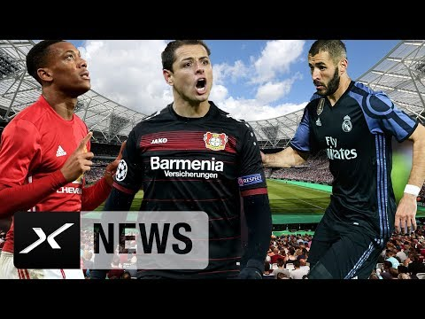 Chicharito weg, Benzema auf Milans Zettel und Martial zum VfL Wolfsburg? | Transfer-News