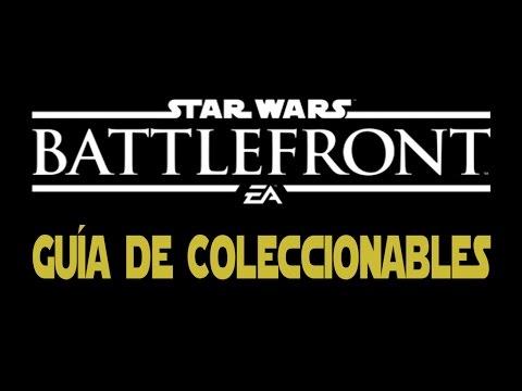 Star Wars Battlefront - Guía de Coleccionables en las misiones (Hoth, Tatooine, Endor, Sullust)