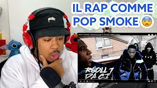 IL RAP EXACTEMENT COMME POP SMOKE ! Dusty Locane - Rolando (REACTION)