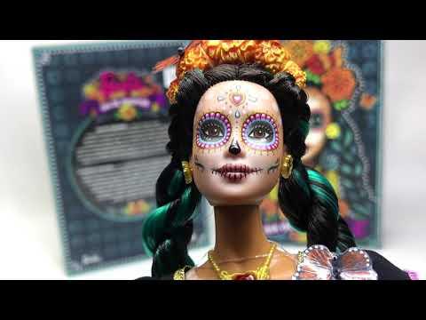 Barbie Catrina, Día de Muertos UNBOXING ► Juegos Juguetes y Coleccionables